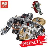 Новый Лепин 05151 звезды план предательство в облачный город набор Совместимость Legoing 75222 блоки кирпичи здание Развивающие игрушки модель