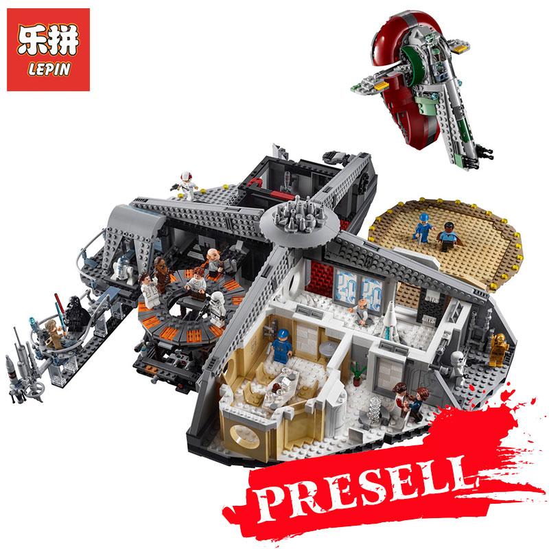 New Lepin 05151 Star WARS Plan Betrayal at Cloud City set Compatible Legoing 75222 Blocks Bricks Building Educational Toys Model new 1685pcs lepin 05036 1685pcs star series tie building fighter educational blocks bricks toys compatible with 75095 wars
