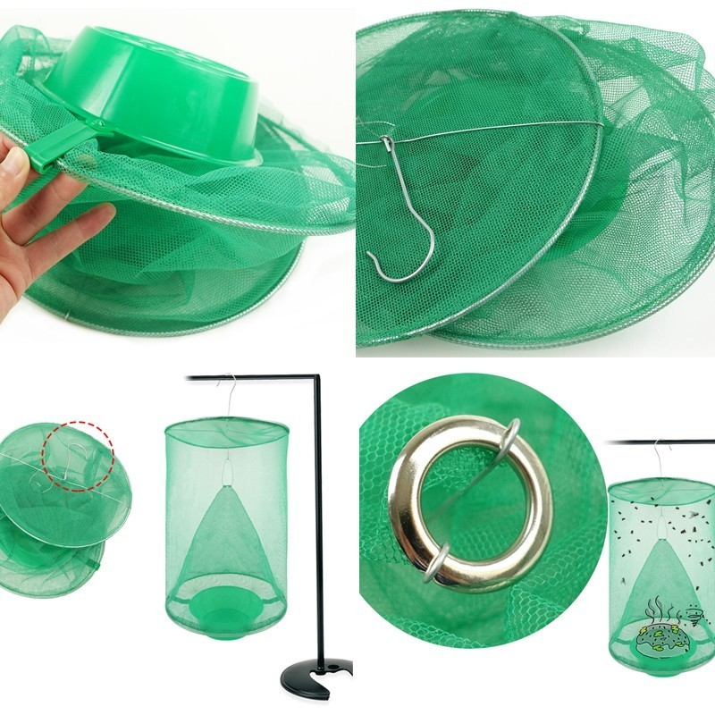 Image 4 - 2019 NEW Flycatcher Mosquito Trap Catcher The Ultimate Red Drosophila Fly Trap Top Catcher Fly Wasp Insect Bug Killer-in Traps from Home & Garden