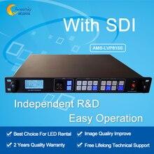 Original suporte técnico gratuito AMS-LVP815S SDI switcher levou processador de vídeo display led controlador de tela led
