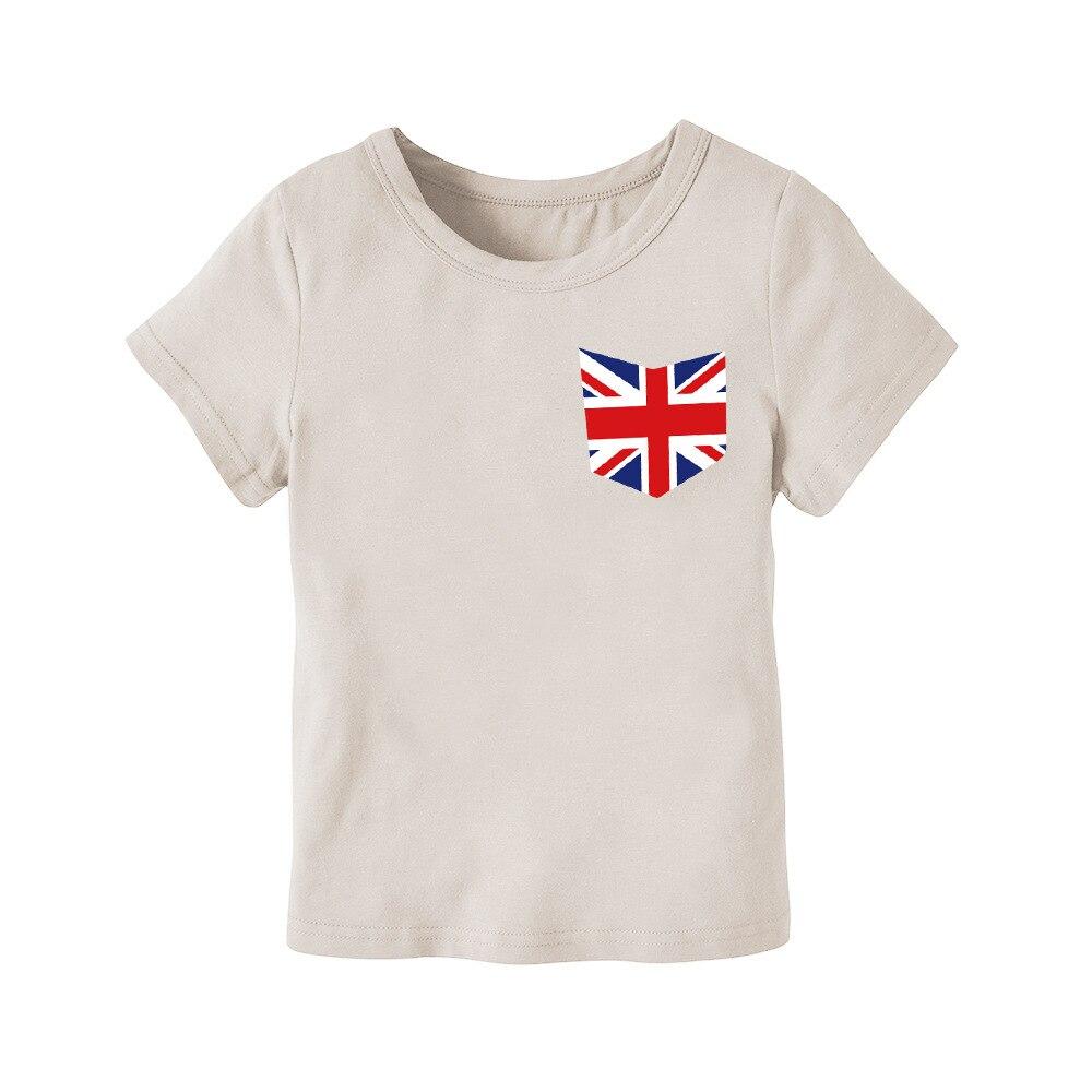 2018 Fashion Baby Boy Tee Shirts Light Gray Boys Short Sleeve Tops Summer Girls Top Kids T Shirt Kids Tshirt Casual