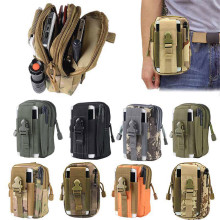 Waterproof Men's Tactical Coin Purse Waist Fanny Packs 5.5inch Mobile Pouch Bag B2Cshop