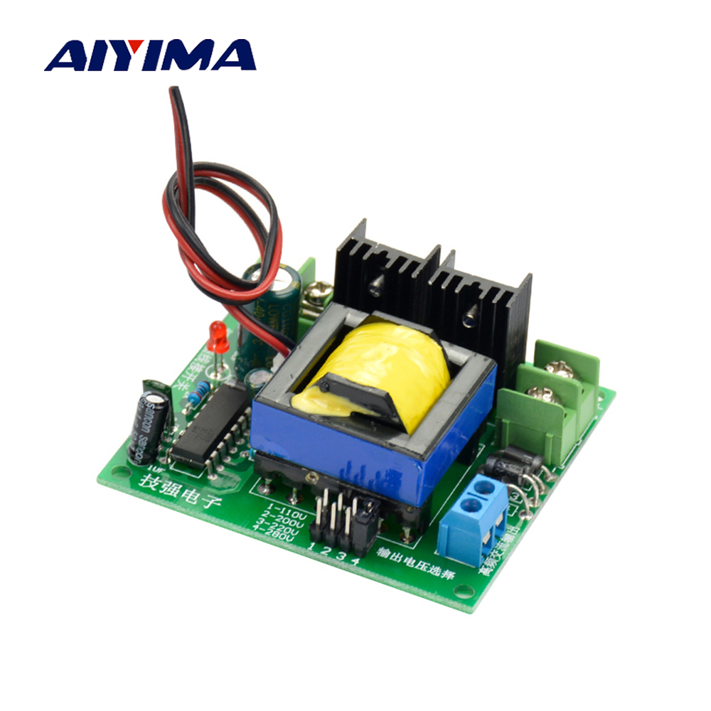 Aiyima DC-AC Converter 12V to 110V 200V 220V 280V AC 150W Inverter Boost Board Transformer Power
