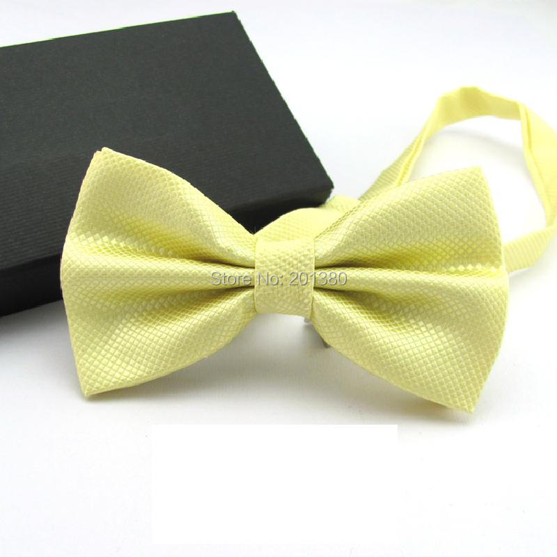 17 Solid color bowtie men Bow Tie Fashion butterflies white black blue 4