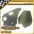 Car-styling Cubierta Del Filtro de Aire de Fibra de Carbono CF Ajuste Para Nissan Skyline R34 En Stock