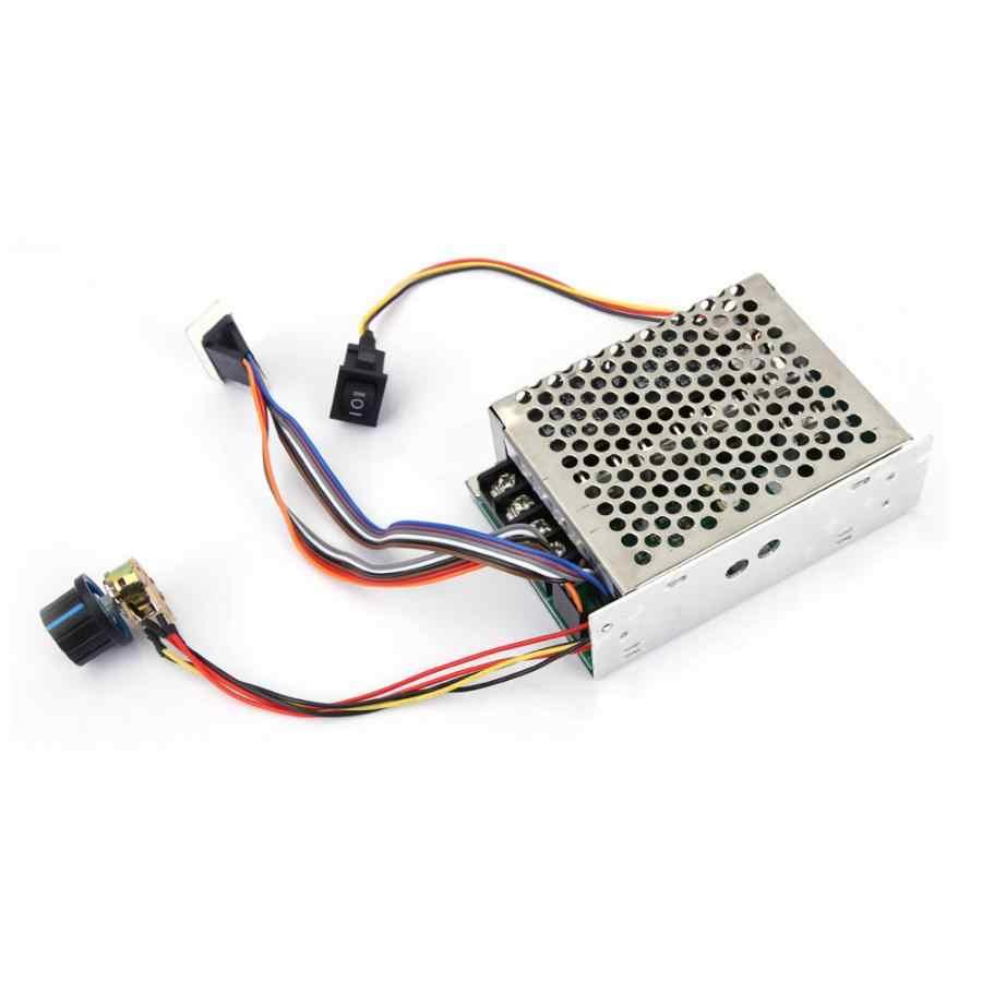 40A DC moteur électrique régulateur de vitesse conseil PWM moteur régulateur de vitesse outil équipement DC 10-55 V
