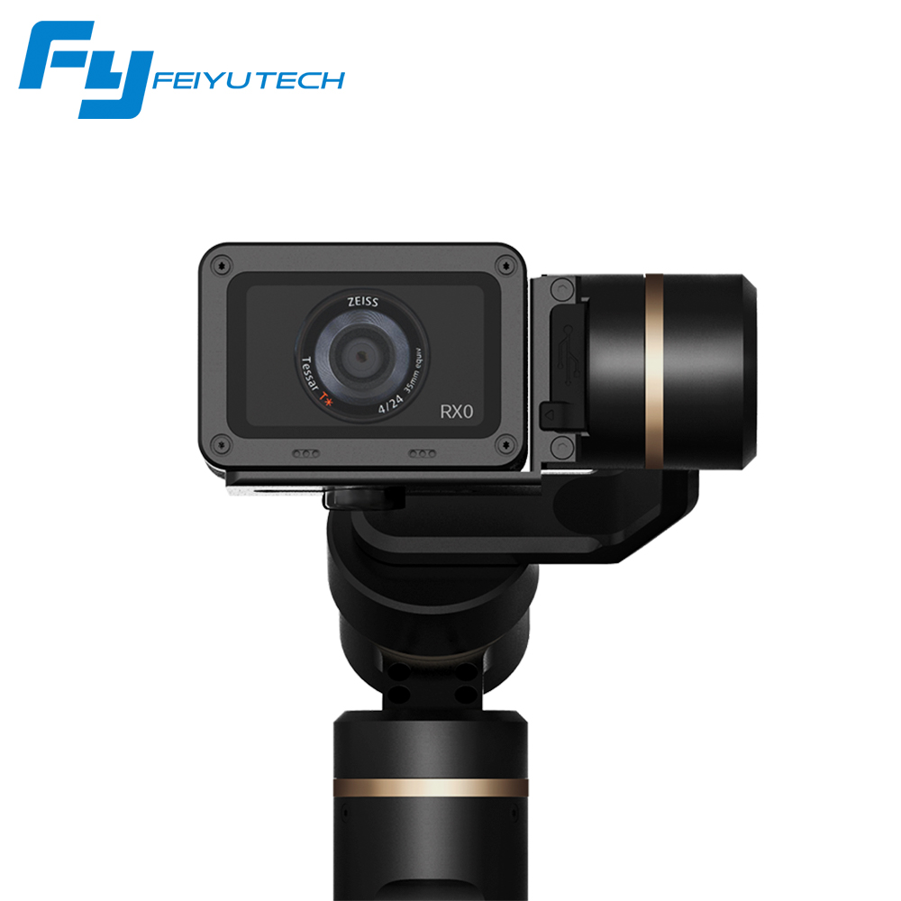 Feiyu G6 3-Axis Splash Proof Gimbal Stabilizer for GoPro Hero 6//5//4OLED Wi-Fi