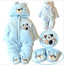 Winter Newborn Baby Cute Rabbit Romper