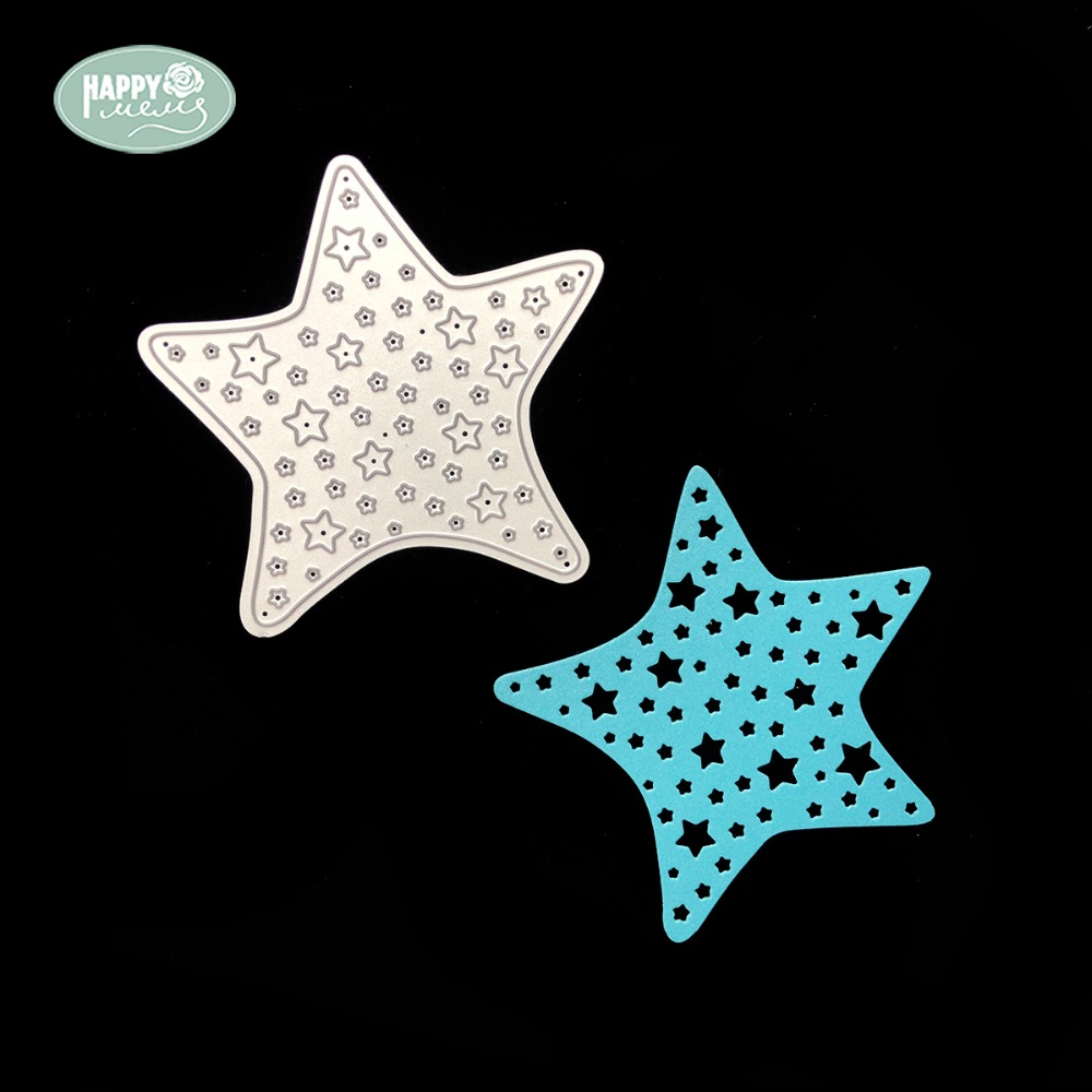 2018 Home Decoration Sweet Dream Star Cutting Dies Silver Or Custom Color Cutting Dies Baby Etching Starfish Cutting Dies Electronic Components & Supplies
