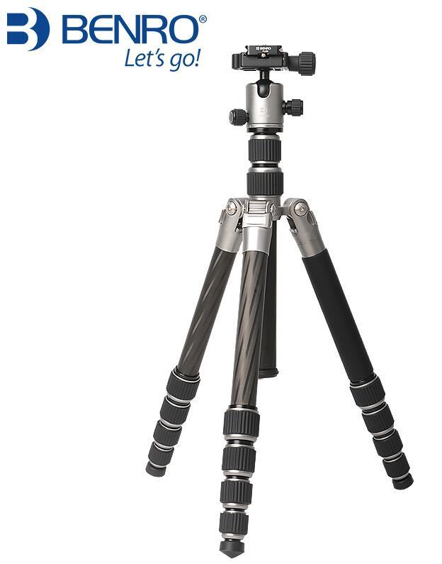 Benro nouveau MC19 fibre de carbone appareil photo reflex trépied appareil photo triangulaire costume de photographie - 3