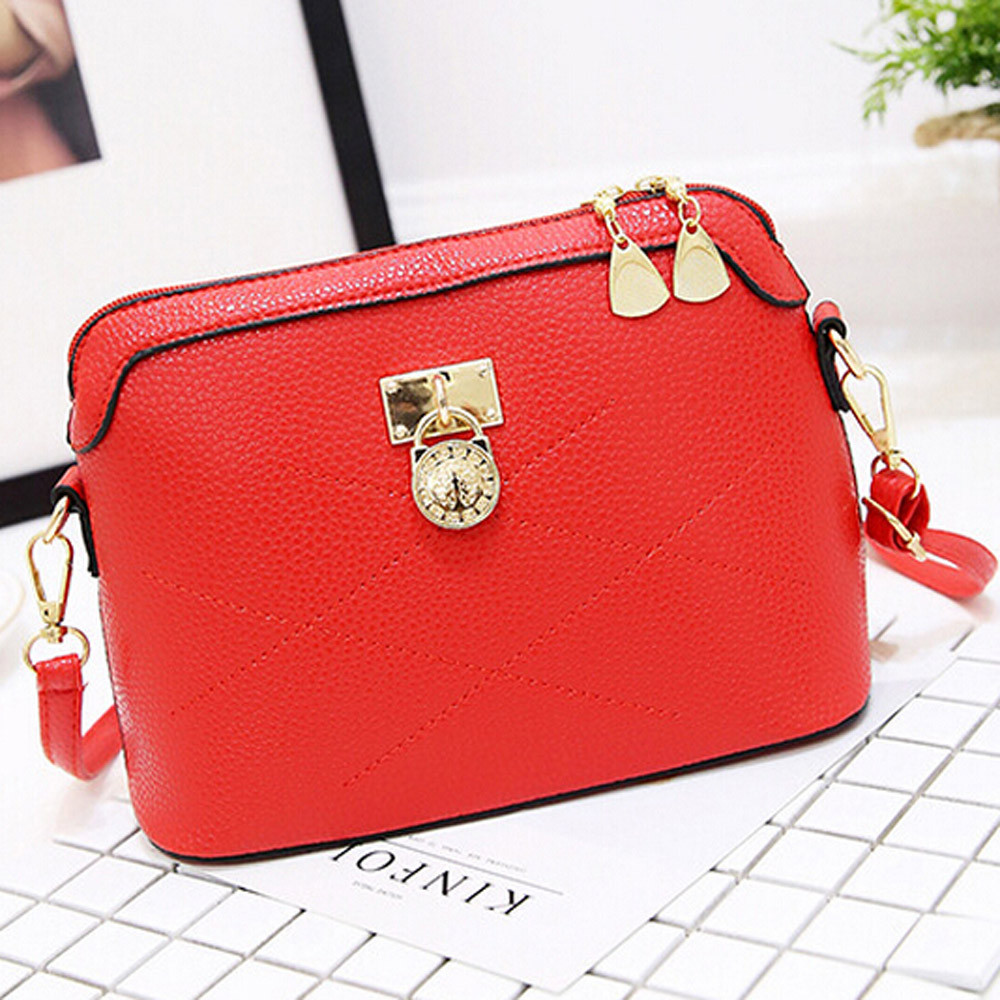 2018 Shell Women Messenger Bags High Quality Cross Body Bag Soft PU Leather Mini Female Shoulder Bag Handbags Bolsas Feminina yesetn bag hot selling high quality unisex women men small vintage messenger bag brown female male cross body shoulder bags
