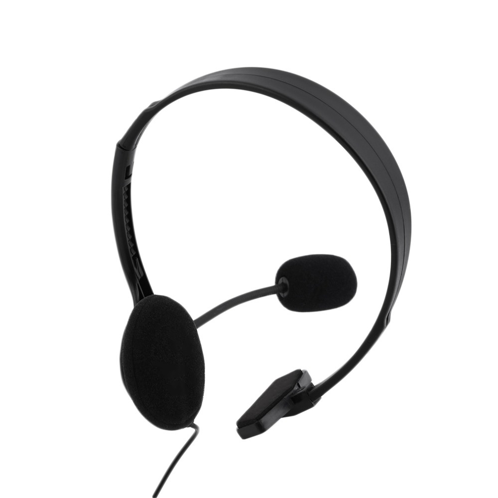 2018 New 3.5mm Wired Gaming Headset Headphone with Microphone Mic Chat Headphone for Play Station 4 Game Accessories
