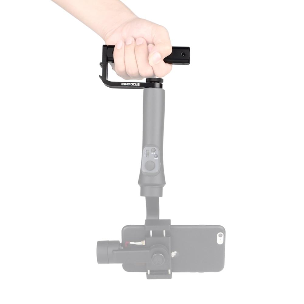 Fixed Handle Grip Holder Mount Handlegrip with 1//4 Screw Hole Cold Shoe Base Fosheng Universal Handheld Handlebar for DJI Ronin S