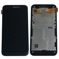 Black LCD Display Glass Touch Screen Digitizer Assembly Frame For ASUS PadFone A66