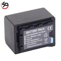 LPD 7.2v 5800mah 100% brand new Replacement Camera Battery For Panasonic VW VBD58 AG AC8 AG AC8EJ AJ PX270 HC X1000