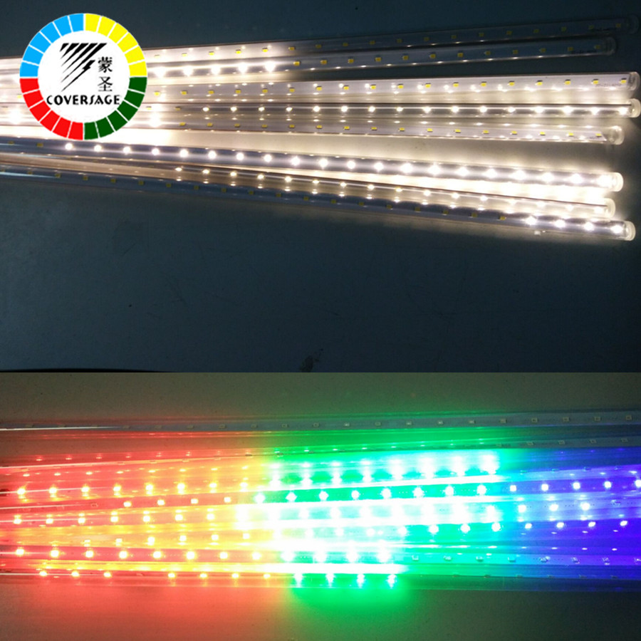 Led String Lampor Ljus Gardin Led Net Garden Light Led Gardin 50cm - Festlig belysning - Foto 5