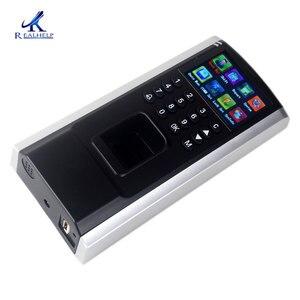 Image 5 - أرخص جهاز التحكم في الوصول بصمات الأصابع TCP IP الموظف وقت الحضور مع التحكم في الوصول F8 لوحة المفاتيح تتفاعل الوصول البيومترية