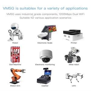 Image 5 - VONETS VM5G cao cấp không dây 1200 M 5.8G Wifi 2 băng tần Mô đun thang máy giám sát video HD chuyên dụng điểm điểm điểm transmiss