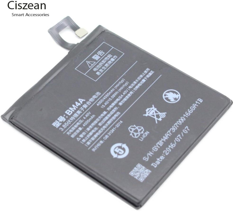 Ciszean Replacement-Battery Batterie Accumulator BM4A Xiaomi Redmi 4000mah For Pro 10PCS