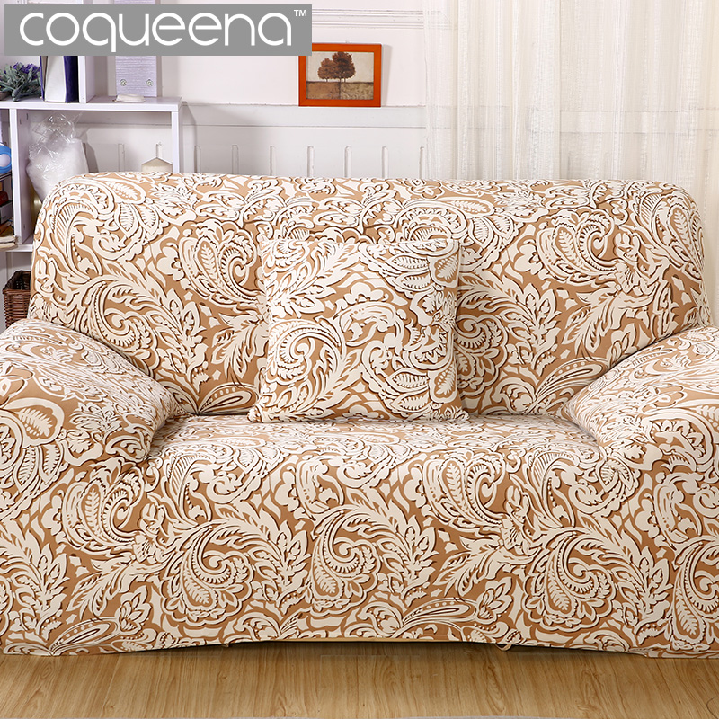 Classic Style Patterned Sofa Cover All inclusive Slip
