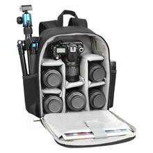Nylon Đa năng Ba Lô Video Kỹ Thuật Số DSLR Túi Chống Nước Ngoài Trời Ảnh Túi Cho Nikon/Canon XA149K