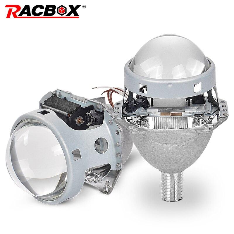Brouillard Lampe de Travail H2 Ampoules 3.0 ''Bi xénon Objectif Du Projecteur Pour HELLA 5 Non-destructive l'installation Car Auto Phare car Styling 12 V