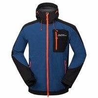 Mammoth Winter Ski Outdoor Sport Windbreaker Hiking Trekking Skate Rain Coat Tech Fleece Waterproof Men's Softshell Jacket