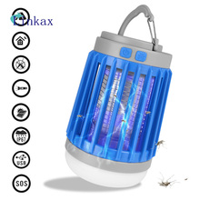 Mosquito Killer Lamp 3 in 1 Multi-function USB Rechargeable Flashlight Insect Trap Outdoor Camping LED Bug Zapper