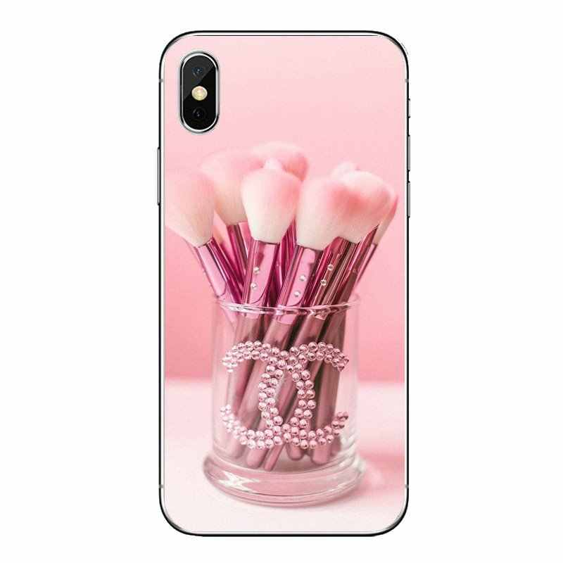 Чехол Инструменты губная помада печати Красота девушки макияж комплект искусства для samsung Galaxy A5 A6 A7 A8 A9 J4 J5 J7 J8 2017 2018 Plus Prime