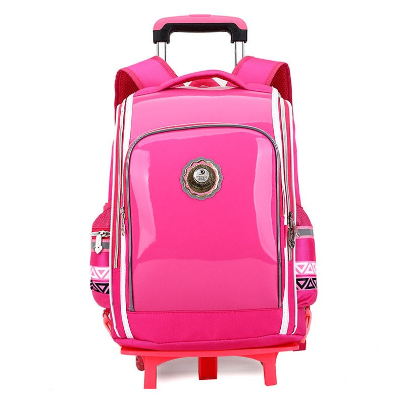 Aliexpress.com : Buy 2016 new School Bag Rolling Backpack children ...