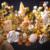 Mulheres banhado a ouro da coroa de cristal Tiara real barroco luxuoso da jóia do casamento enfeites de cabelo shell rainha floral diadema huiqiu
