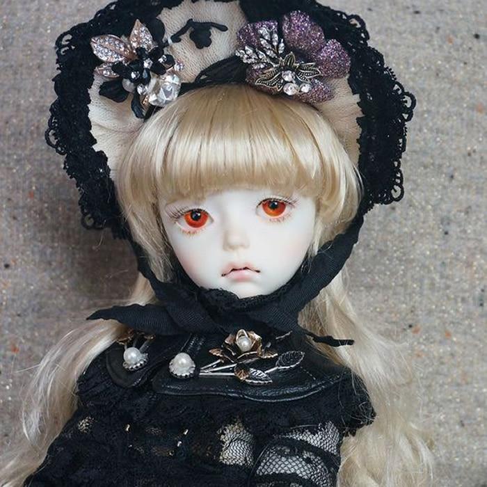 stenzhorn BJD doll SD doll 1/4 girl imda 4.3 Manon joint doll doll give eyesstenzhorn BJD doll SD doll 1/4 girl imda 4.3 Manon joint doll doll give eyes