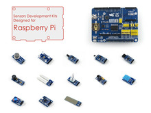 Raspberry Pi Accessory Pack for Raspberry PI 3B / 2B / B+ / A+ Including ARPI600 Expansion Board plus Various Sensors Modules