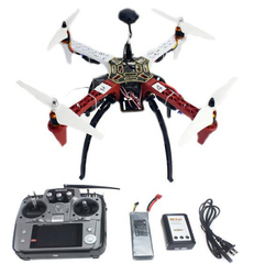 4-axis Aircraft RC Quadrocopter Helicopter RTF F450-V2 Frame GPS APM2.8 AT10 TX/RX Battery x Parts F02192-S
