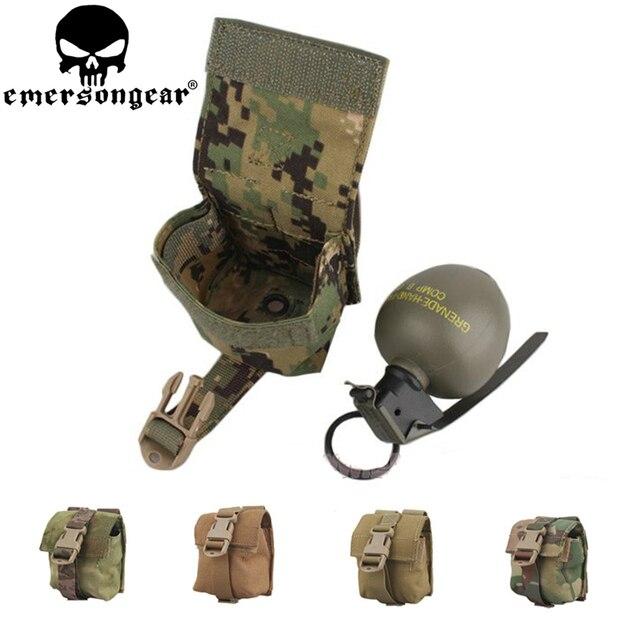 ЭМЕРСОН стиль моторизованных войск один вид grenad Molle военно страйкбол Пейнтбольная боевое снаряжение EM6369 Мультикам Coyote MCBK MCTP AOR2