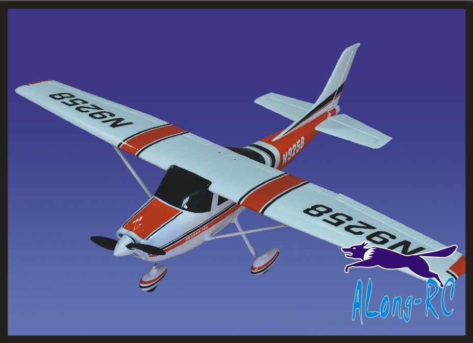 EPO <font><b>plane</b></font> <font><b>RC</b></font> airplane MODEL HOBBY BEGINNER 4 channel <font><b>plane</b></font> wingspan 1410mm CESSNA182 (have KIT set or PNP set or RTF SET ) image