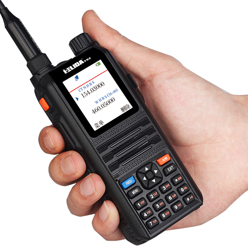 Color display walkie taklie transceiver 5W CP UV2000 VHF UHF Three Band 136 174 200 260