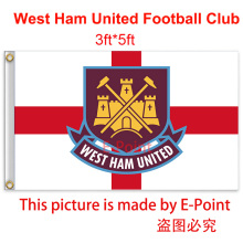 England West Ham United FC decoration Flag B 3ft*5ft (150cm*90cm)