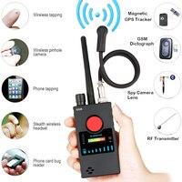 Anti Spy Detector,Wireless RF Bug Detector,Ultra Sensitive Bug Sweeper for Hidden Camera GSM Listening Device GPS Radio