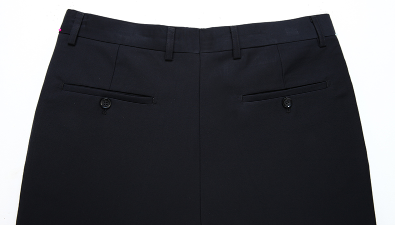 HTB1klpsmr1YBuNjSszeq6yblFXaS Summer Men Business Thin Silk Pants 29-50 Male Big Size Formal Classic Black Breathable Office Baggy Suit Trousers For Mens