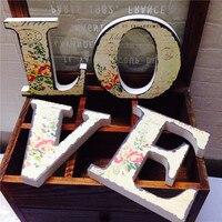 ZAKKA деревянный Любовь Главная бляшки слова письма для настенного дверь Книги по искусству знак украшения Свадебная вечеринка подарок с Вин...