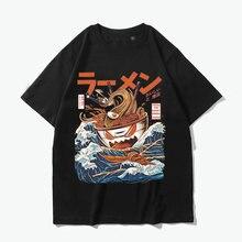 Japanese Harajuku T Shirts Ramen off Kanagawa men tshirts drop shipping 3d Print Short Sleeve T-shirt Streetwear Hip Hop top tee