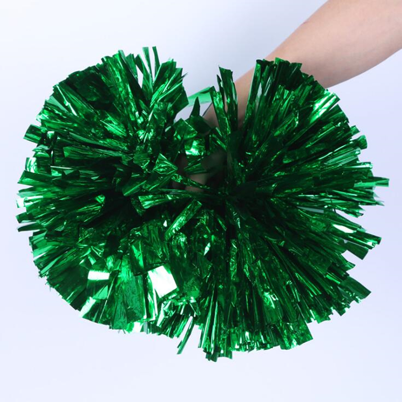 1 Pair Game Pompoms Cheap Practical Cheerleading Pom Poms Apply to Sports Match