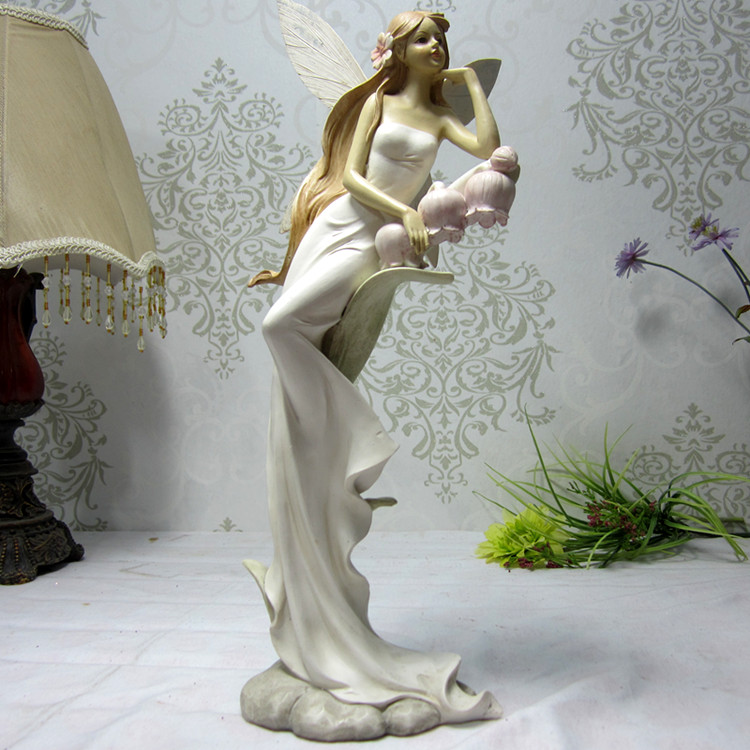 Compare Prices on Ceramic Angel Statue- Online Shopping\/Buy Low - living room statues