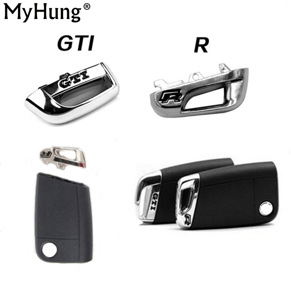 Keyless Remote Car metal Key chain base For Volkswagen VW Golf 7 MK7 GTI/R Skoda Octavia ...