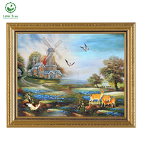 2017 Free Shipping 3D DIY Diamond Painting Home Decoration Natural Scenery Drawing Cross Stitch Mosaic Embroidery Painting