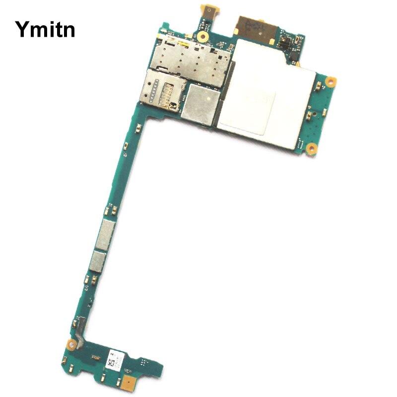 Ymitn Débloqué Mobile Électronique Panneau Carte Mère Carte Mère Circuits Pour Sony Xperia Z5 Prime Z5p E6883 E6853 E6833