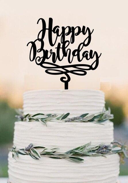 happy birthday cake topper birthday cake topper personalized