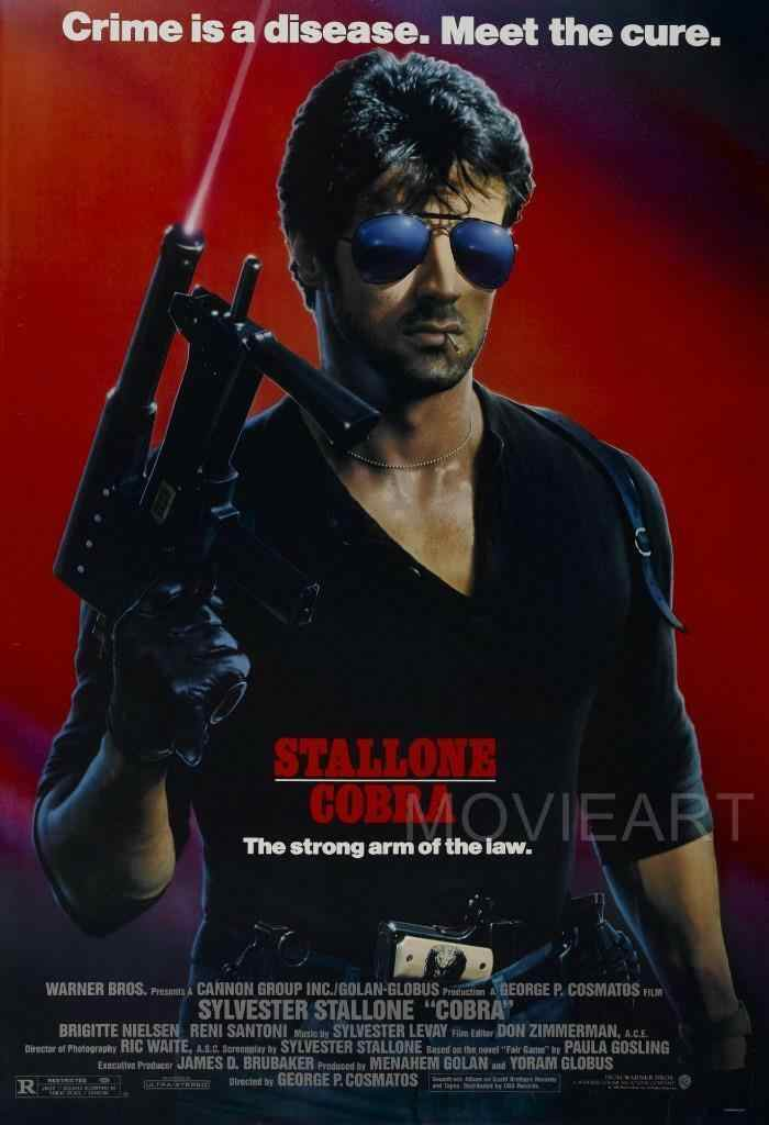 COBRA STALLONE MOVIE SILK POSTER Wall painting 24x36inch