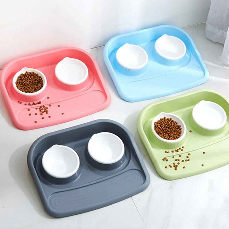 font b Pet b font dog Bowls Puppy dog food bowl stainless steel Cat Bowl